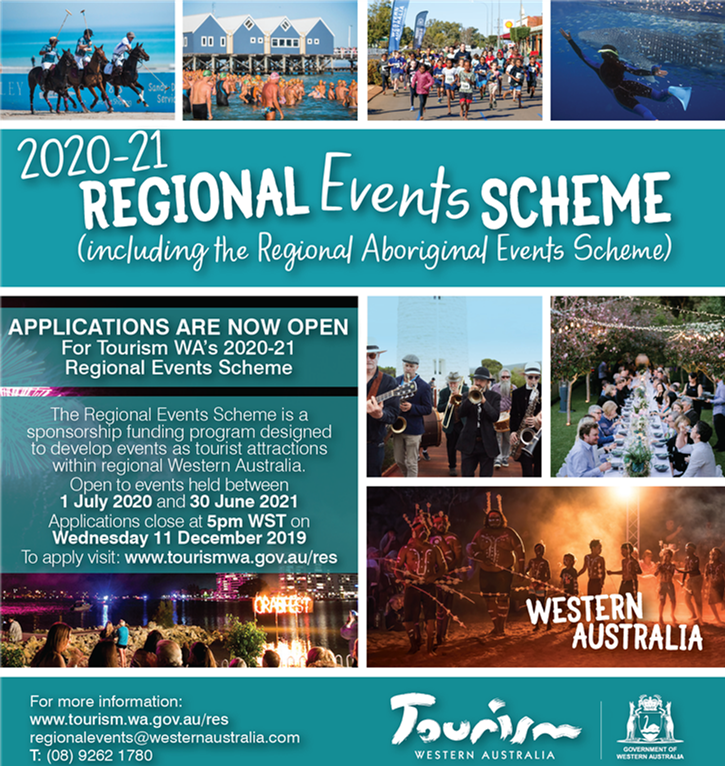 2020-21 Regional Events Scheme - Applications Now Open