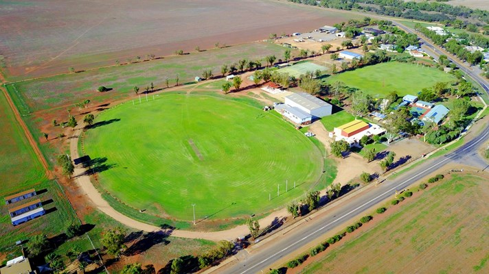 Community - Aerial view Nabawa Oval